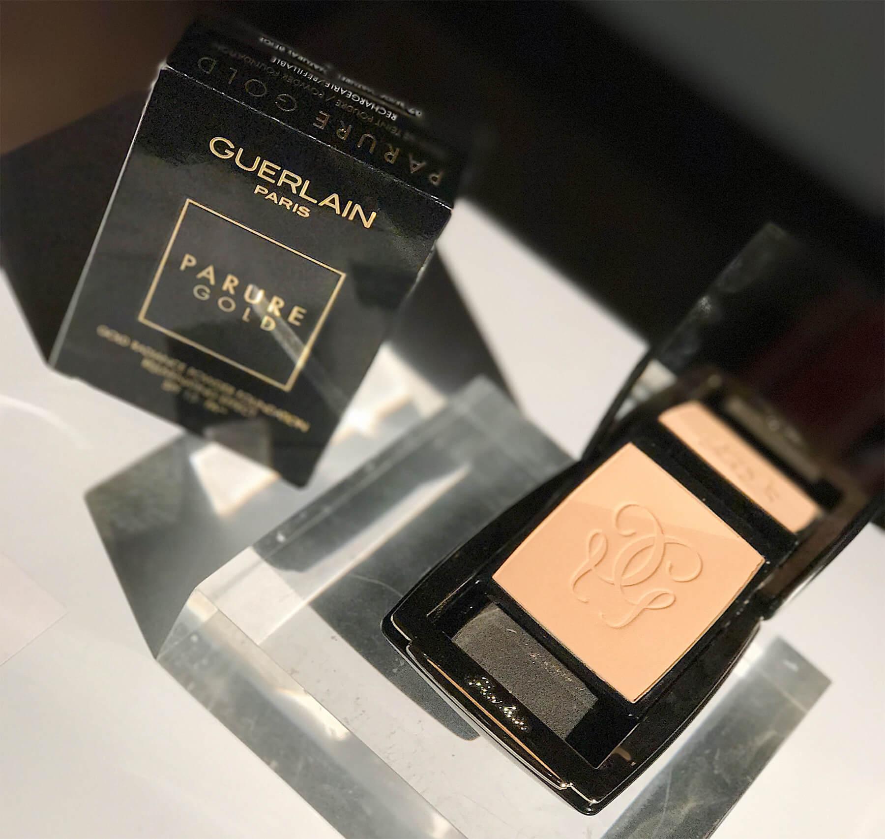 Pó compacto Guerlain Parure Gold