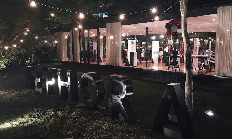 Evento Hot Now de lançamentos de produtos de beleza das marcas vendidas na Sephora Brasil, para o segundo semestre de 2017
