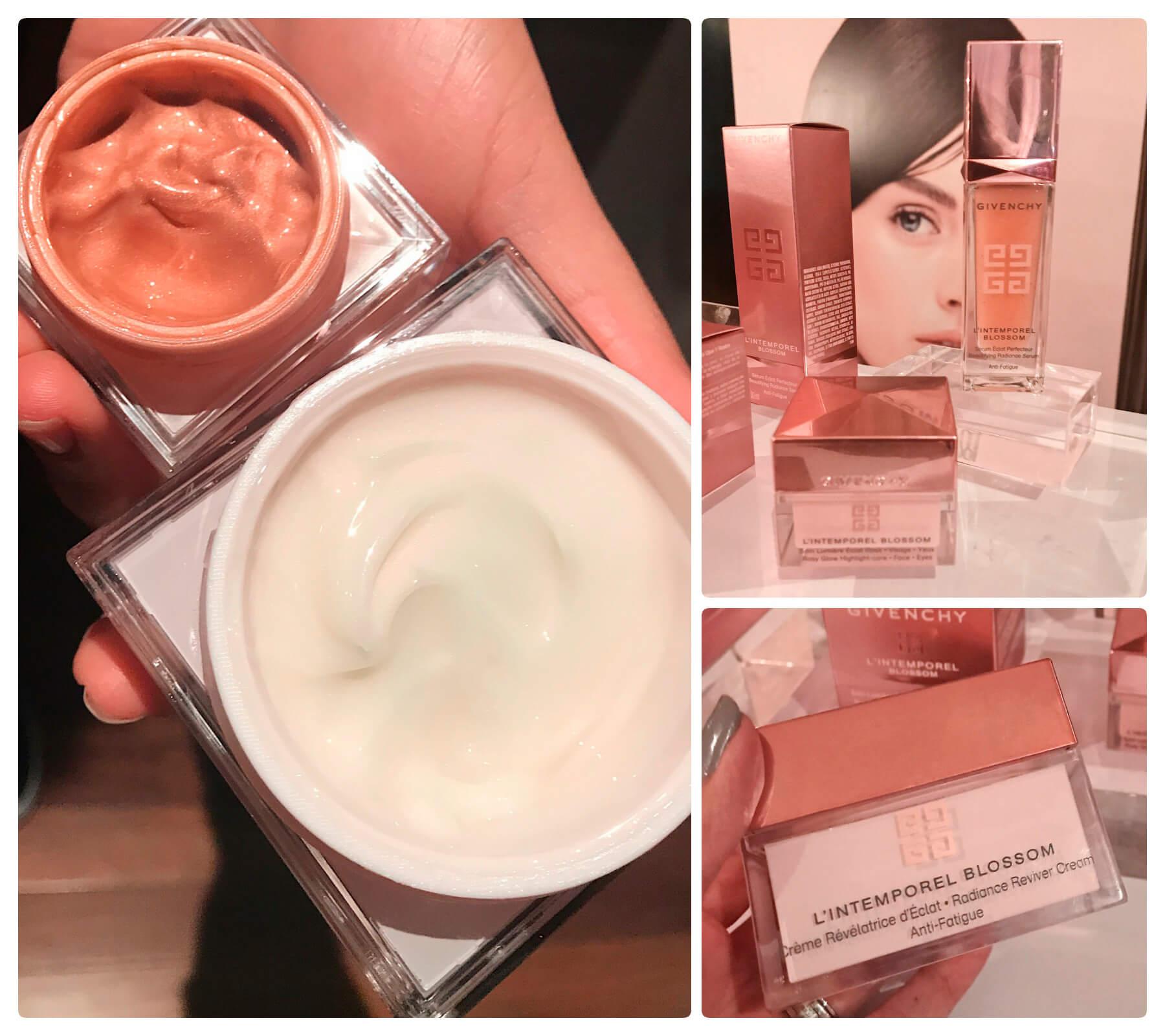 Lançamentos Sephora de Givenchy, lança linha L'Intemporel Blossom, anti fadiga para a pele facial