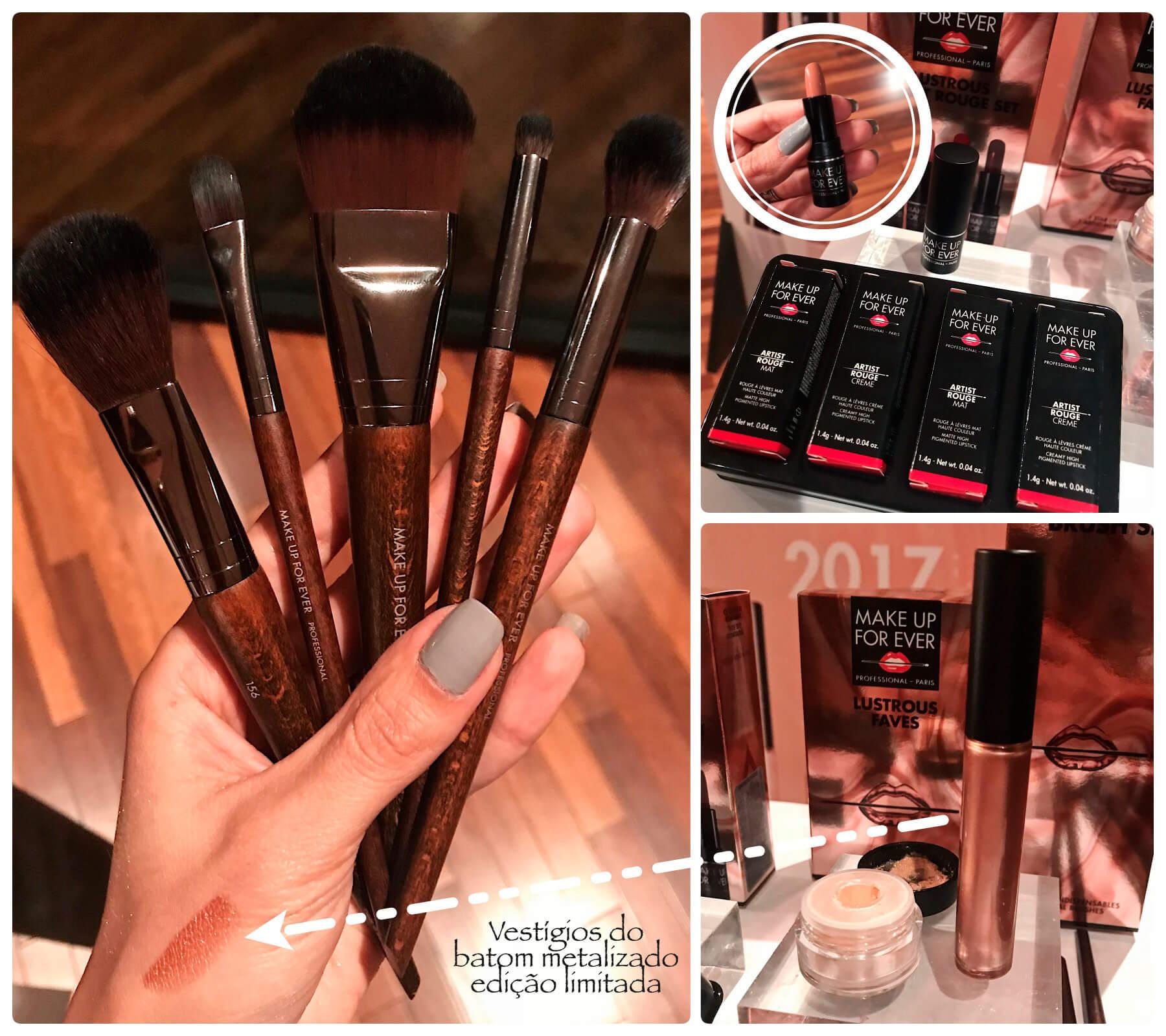 Lançamentos Sephora de Make Up For Ever, três kits com alguns de seus produtos queridinhos em embalagens presenteáveis