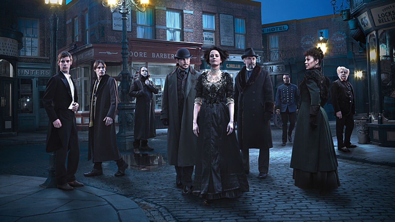 Banner elenco Penny Dreadful