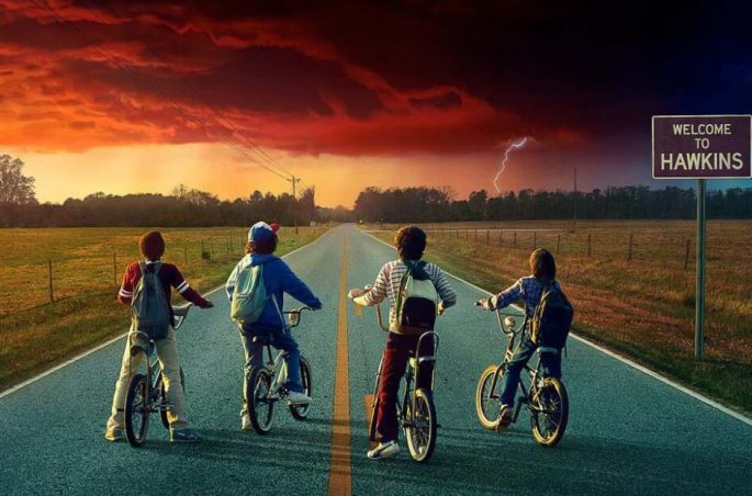 Banner Stranger Things